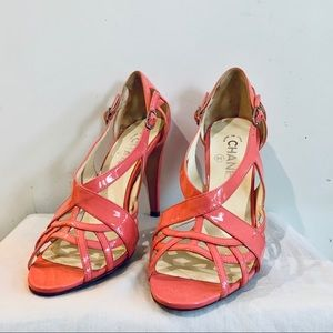 Pink Chanel Heels Size 7
